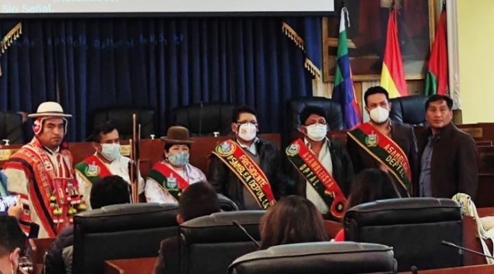 El MAS domina la directiva de la Asamblea Legislativa Departamental de La Paz