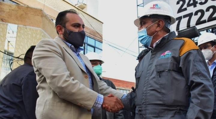 En una primera acción conjunta con el Gobierno, Arias anuncia el enmallado del Puente de las Américas