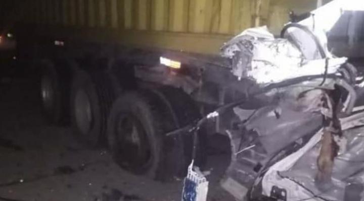 Accidente deja siete personas fallecidas en choque vehicular en Oruro