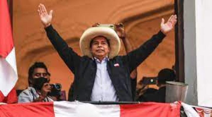 Arce y Rodríguez felicitan a Pedro Castillo; Perú procesó el 100% de las actas electorales