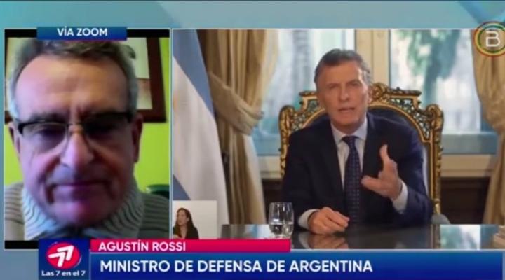 Ministro de Defensa argentino asegura que carta de Terceros es real