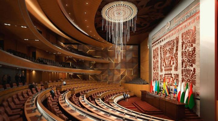 Creemos cuestiona que haya sólo símbolos andinos en nuevo edificio de la Asamblea