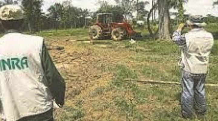 El Gobierno inicia procesos en Santa Cruz por la propiedad de tierras e incendios