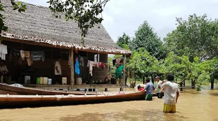 Reportan 18 fallecidos y 7.698 familias damnificadas por lluvias en siete departamentos