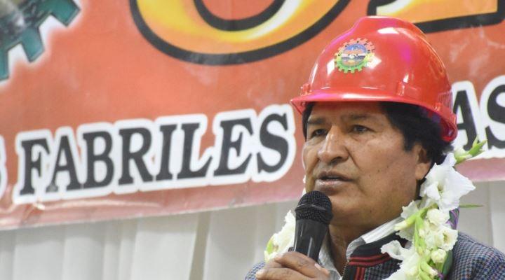 Para Evo el problema de Venezuela no es la democracia sino el petróleo que quiere EEUU