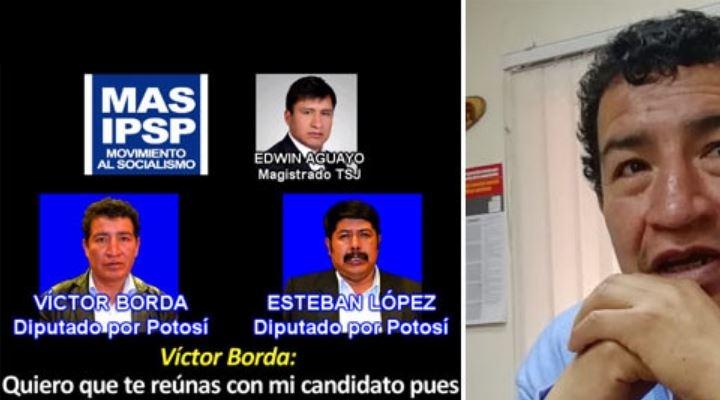 Un audio revela que Borda presuntamente utilizó sus influencias en elección de un magistrado