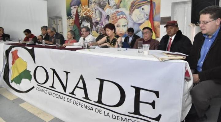 Conade pide al TSE investigar al grupo Wila Lluch'us y anular la personería jurídica del MAS si se comprueba su militancia