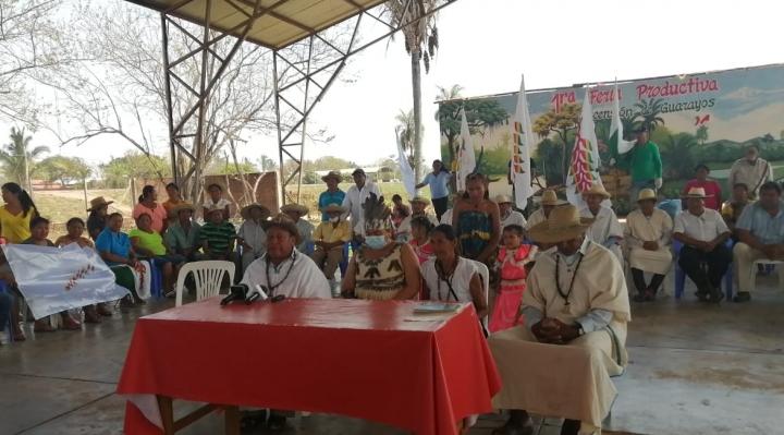 Marcha llega a Guarayos y crea el Parlamento Indígena para su autodeterminación