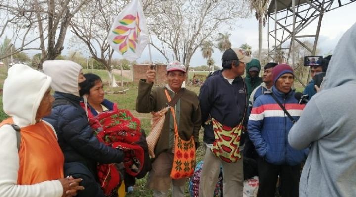Diputada Lero entrega carta a Arce y le exige atender demandas de la marcha indígena