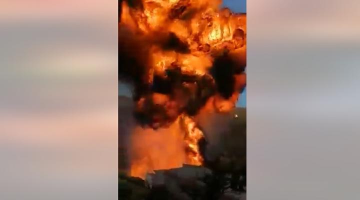 Una explosión sobresalta a Camargo, los primeros reportes indican que no hubo heridos