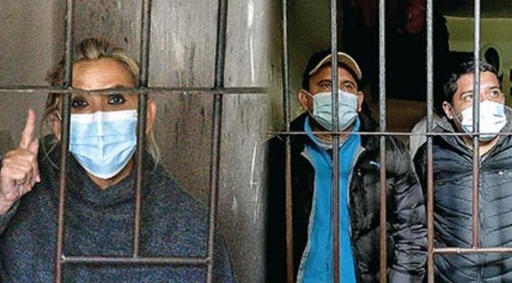 Tras cumplir detención de 6 meses, Añez y 2 exministros seguirán en la cárcel hasta 2022 por otros juicios