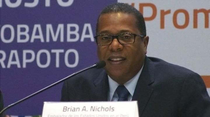 Tres datos sobre Brian Nichols, elegido por Biden para manejar las relaciones de EEUU con América Latina