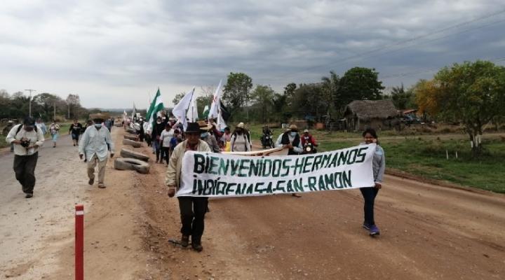 Marcial Fabricano retorna a la columna y la marcha llega fortalecida a San Ramón