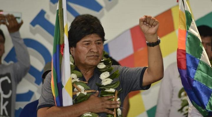 Evo Morales, el dirigente vitalicio de los cocaleros del trópico