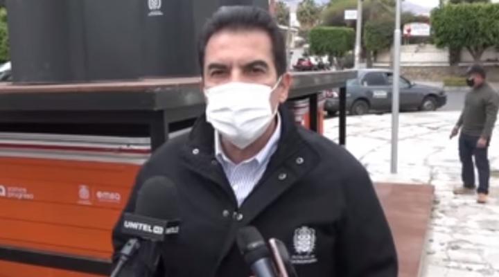 """Reaparece Reyes Villa y denuncia una """"canallada política"""""""