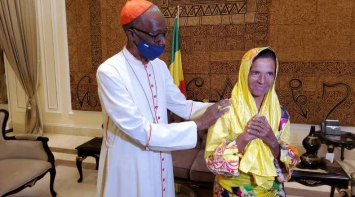 Gloria Cecilia Narváez, la monja colombiana que fue liberada después de estar 4 años secuestrada en Malí