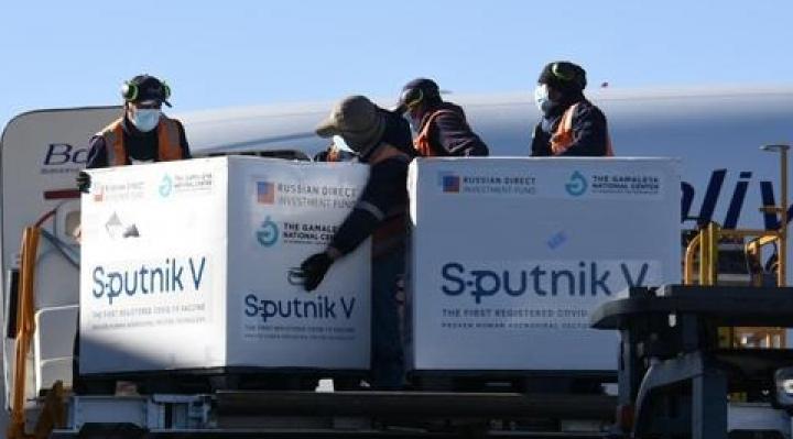 Llegan 378 mil segundas dosis de Sputnik V para completar el esquema de inmunización