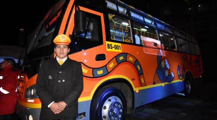 """Presentan al """"hermano menor"""" del PumaKatari, los buses llegarán en junio"""
