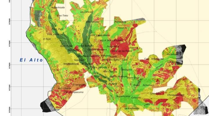 Alcaldía de La Paz identifica 36 zonas de alto riesgo y convoca a la población a tomar previsiones