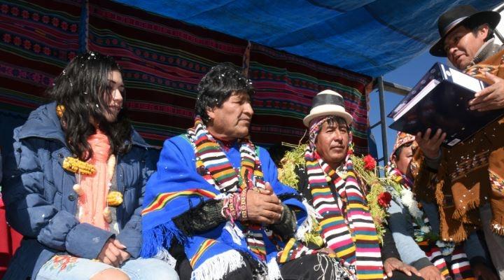 Evo creó un nuevo municipio en Potosí y en el país ya son 342