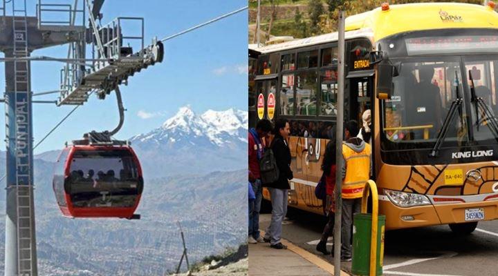 """La Paz, """"cuna"""" de la modernidad del servicio de transporte público"""