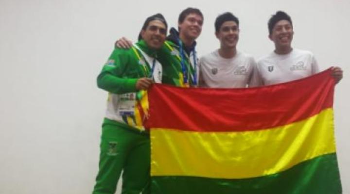 Bolivia consigue su primera medalla de oro en ráquetbol, en los Juegos Panamericanos