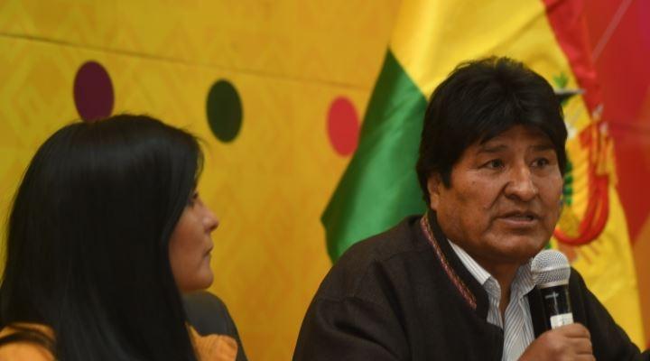 Evo en una primera visita a Sole le promete desembolsos para obras en El Alto
