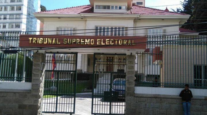 Tribunal Supremo Electoral adelanta en casi tres meses el registro de alianzas para elecciones subnacionales