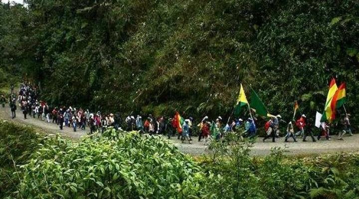 Convocan a la X marcha indígena ante la tragedia ambiental en la Chiquitania