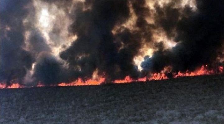 Gobernador Costas pide declaratoria de desastre nacional porque el incendio es de sexta generación