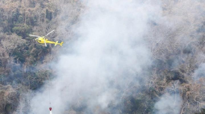 Incendio en la Chiquitanía se acerca a niveles históricos mientras Gobierno rechaza que siniestro haya sido causado por pequeños productores