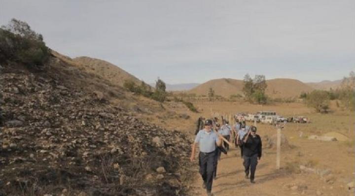 Alcalde de Tarija informa que luego de siete días fue controlado incendio en serranía de Sama