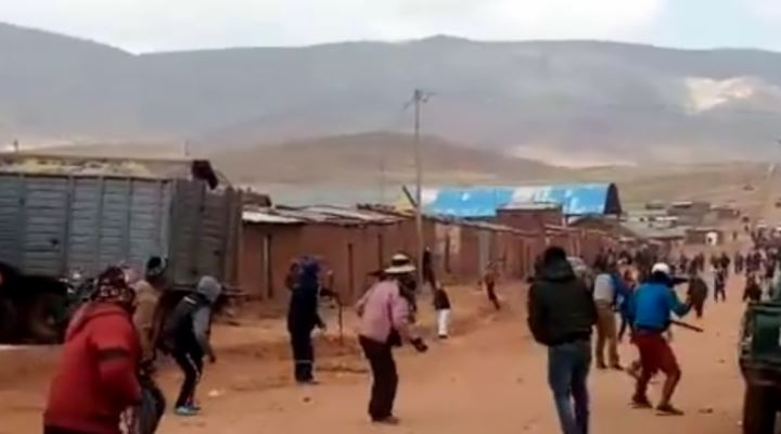 En Potosí, pobladores de Tomaykuri denuncian ataques porque rechazan ser parte de Macha
