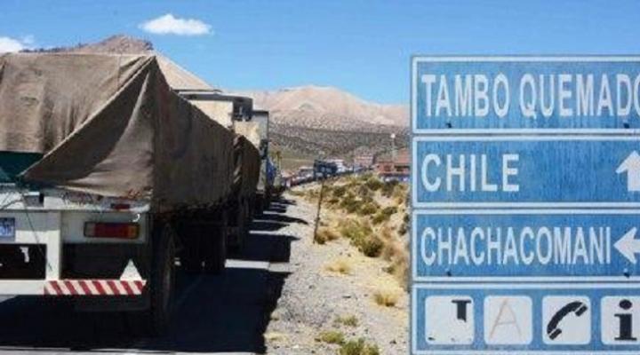 Transportistas amenazan con cierre de fronteras con Chile a partir del lunes