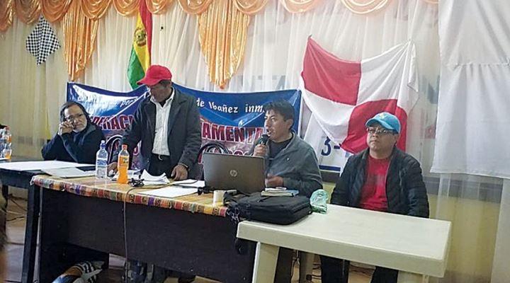 Cívicos de Potosí deciden iniciar mañana ayuno en La Paz y huelga general indefinida desde el 7 de octubre