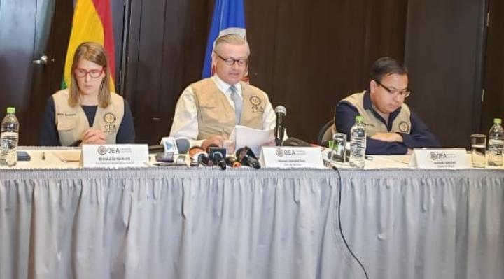 Por la desconfianza en el proceso, la OEA pide que se llame a segunda vuelta