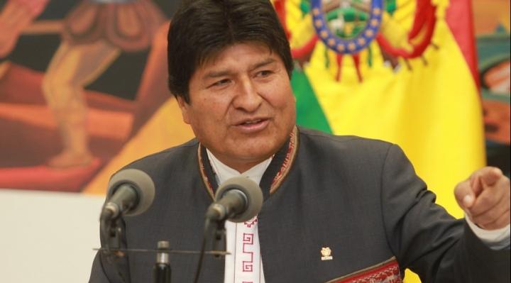 """Morales rechaza propuesta de la OEA de ir a segunda vuelta y acusa a esa entidad de """"golpista"""""""
