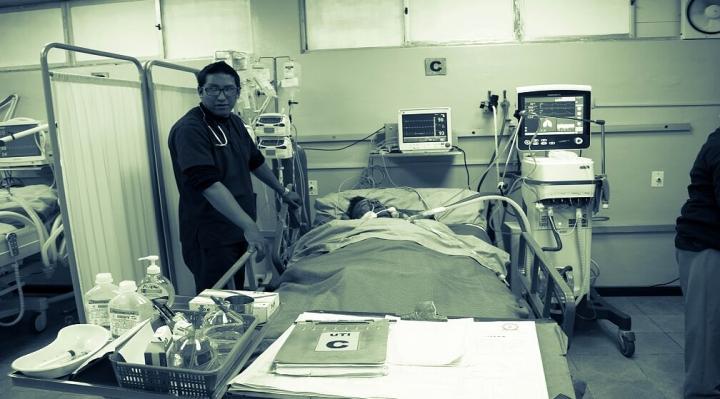 Sobrevivir a urgencias en un hospital de Bolivia