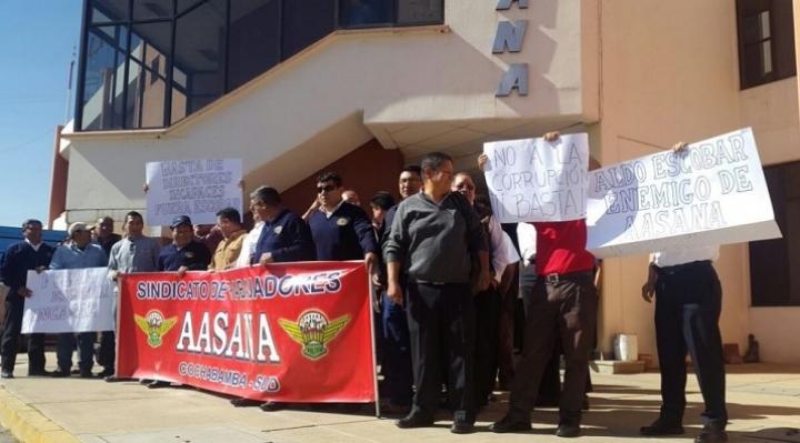 Franklin Portugal designado como director interino de Aasana, trabajadores suspendieron su estado de emergencia