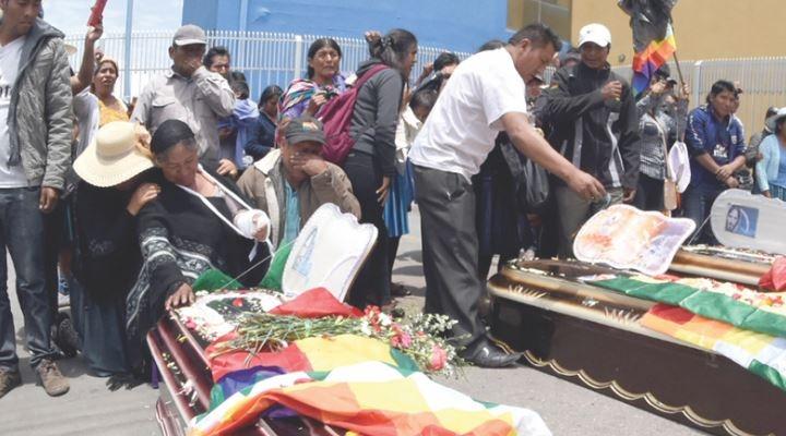 "IDIF: muertes en Sacaba fueron por ""armas largas"", se descartaría armamento militar"