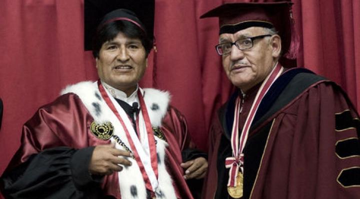 Comisión de Distinciones de Universidad mexicana rechazó que se le entregue el Honoris Causa a Evo Morales
