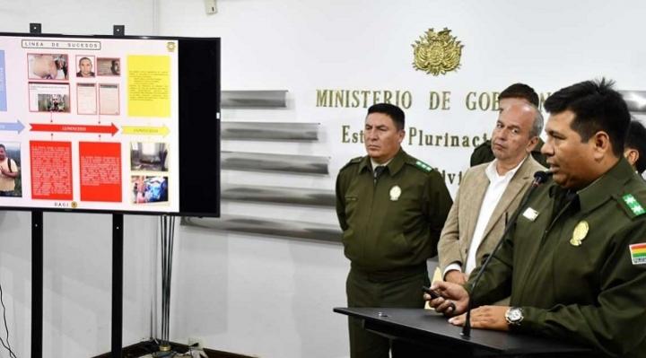 Policía denuncia participación de cuatro extranjeros en presunta red de terrorismo en el país