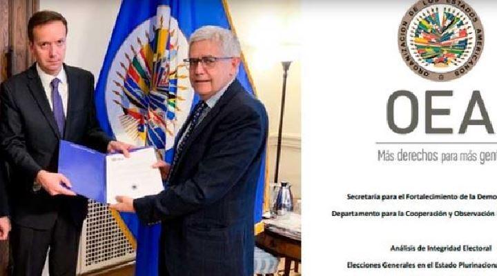 OEA establece mas de una veintena de irregularidades cometidas por el Tribunal Electoral para favorecer a Evo Morales