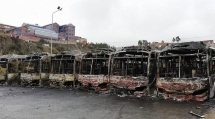 IDIF determina que en Senkata se usaron dinamitas y en quema de Pumakataris, bombas molotov