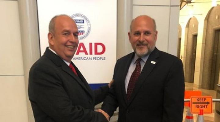 Ministro Arturo Murillo señala que USAID expresó su interés en apoyar a Bolivia
