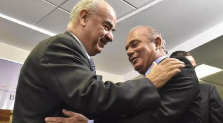 Ministro Parada posesiona a Jorge Lozada como presidente de Aduana en remplazo de Ardaya