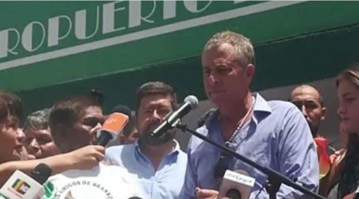 """Marinkovic anuncia que trabajará por la unidad """"para que nunca más suframos abusos de un tirano"""""""