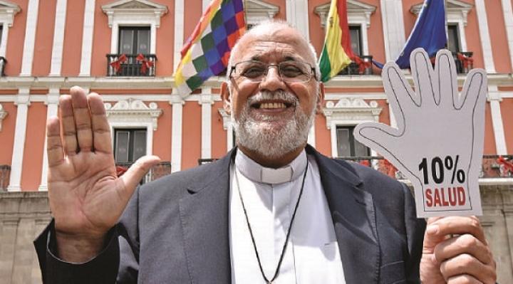 Padre Mateo celebra que Gobierno destine el 10% del PGN para salud
