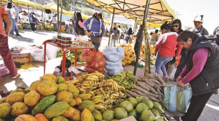 Bolivia registró deflación de 0,03% en el primer mes del año 2020