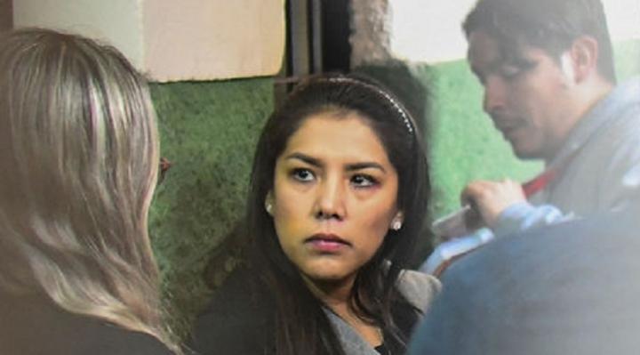 Justicia rechaza apelación y ratifica detención preventiva de la exjefa de gabinete de Evo Morales